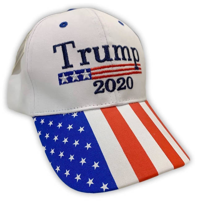 Free Trump 2020 Patriotic Hat