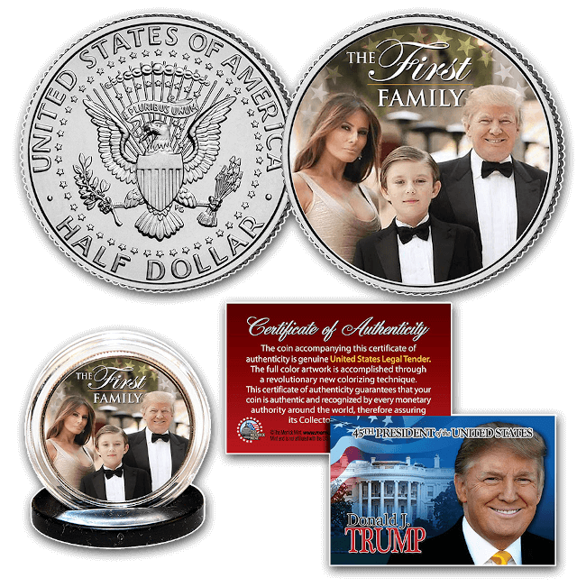 Free Trump Coin First Family