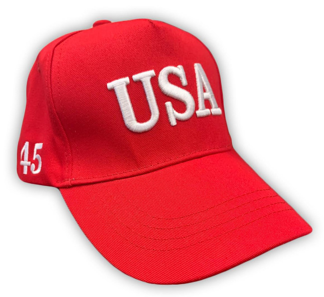 Free Trump Hat USA 45