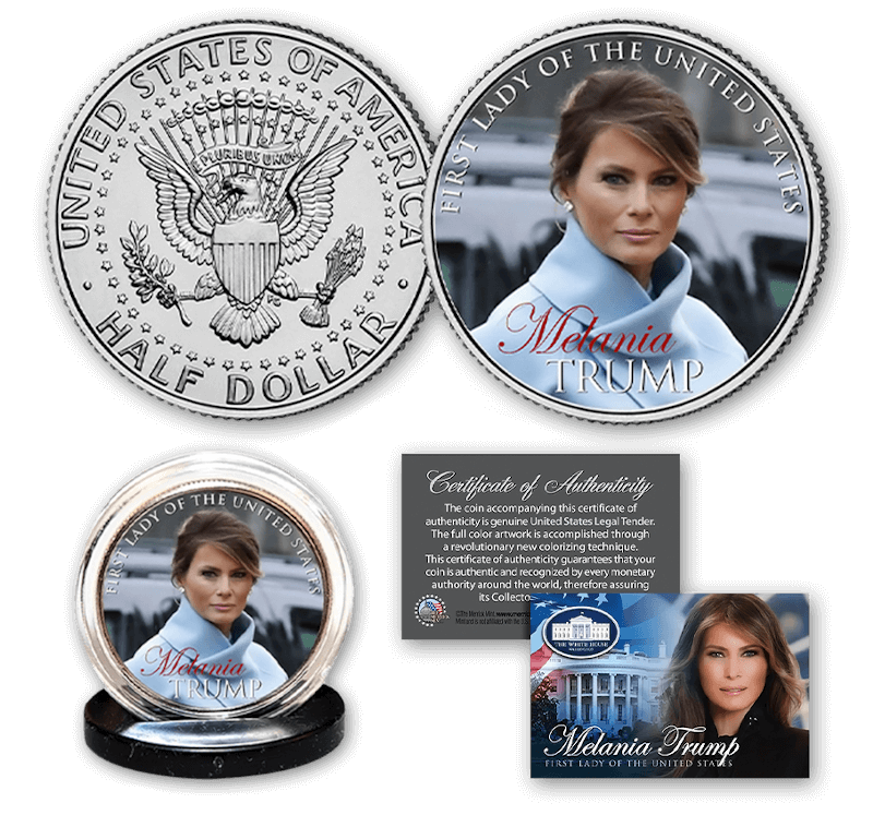 Free Melania Trump Coin