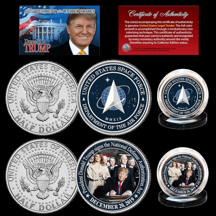 Space Force Trump Coin Bundle