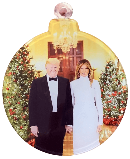 Trump Christmas Ornament
