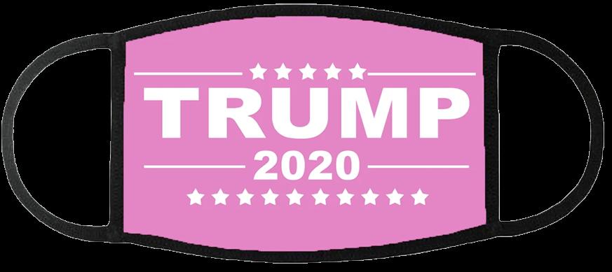 Trump 2020 Pink Face Mask