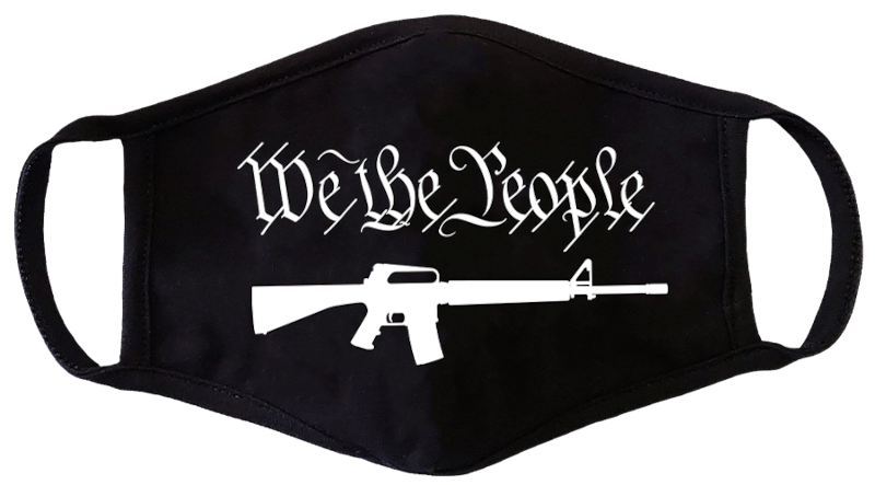 We The People Face Mask