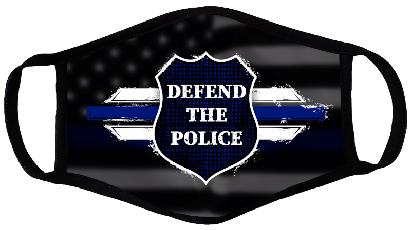 Defend The Police Face Mask