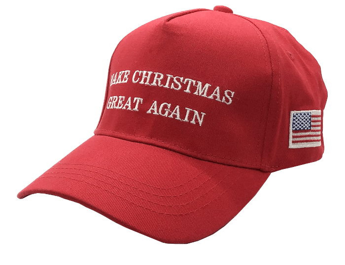 Free Make Christmas Great Again Hat