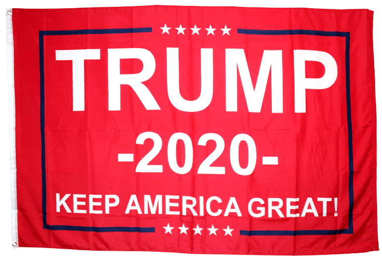 Free Trump Flag Red