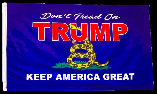 Don't Tread on Trump Flag