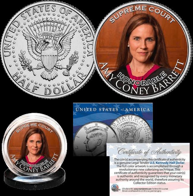 Justice Amy Coney Barrett Coin