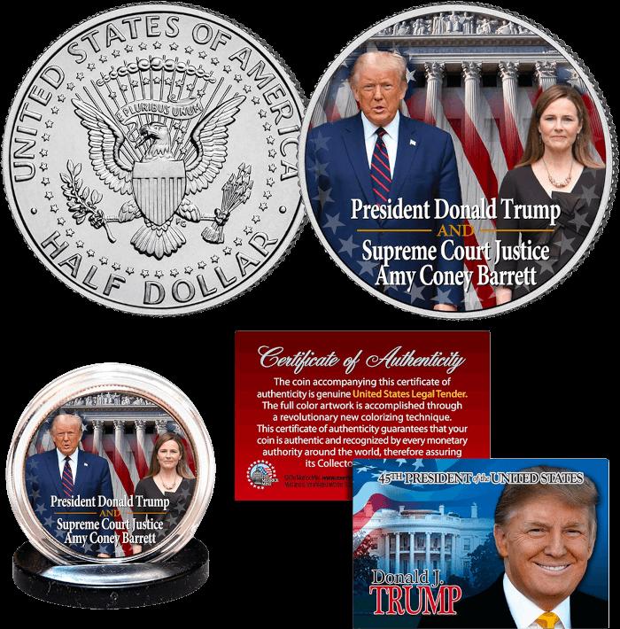 Trump & Justice Barrett Coin