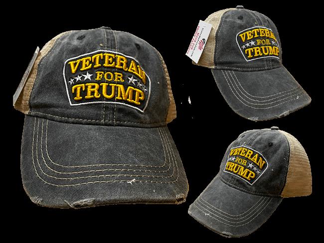 Veteran for Trump Hat