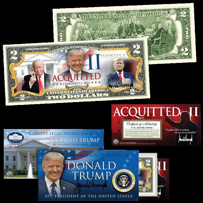 Trump Acquitted Round II $2 Bill