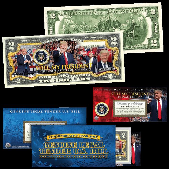 Trump Still My President $2 Bill