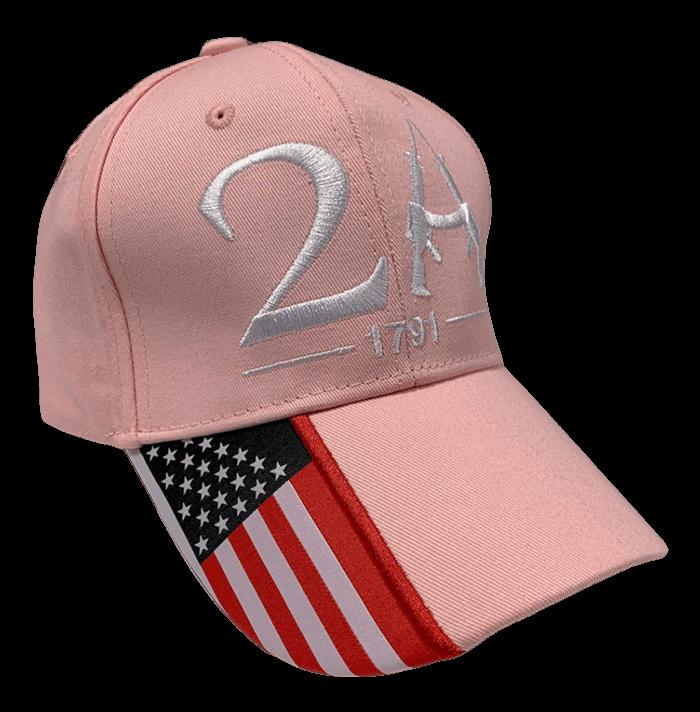 free pink 2A hat
