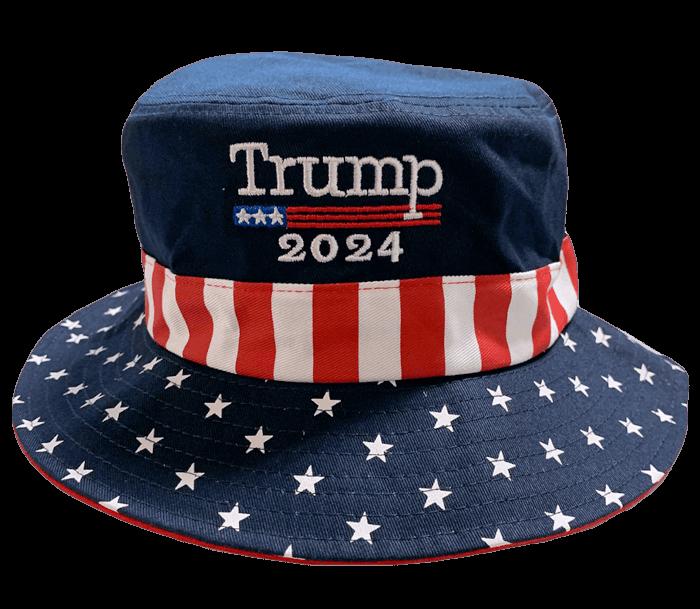 Trump 2024 Patriotic Bucket Hat