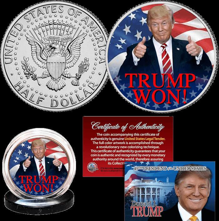 Trump Won Trump Coin